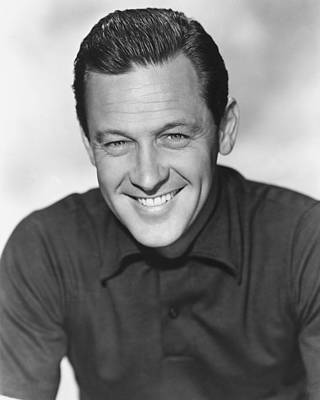 Williams Photograph - William Holden by Silver Screen
