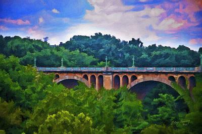 William Howard Taft Bridge Original by Elsy Aumann