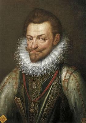 William I Of Orange, Called The Silent Art Print