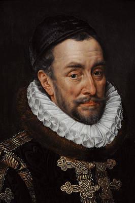William I, Prince Of Orange 1533-1584, C. 1579, By Adriaen Thomasz Key C.1544-1589 Art Print by Bridgeman Images
