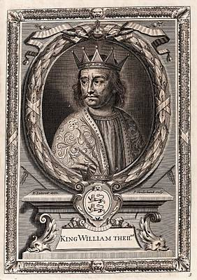 William II Print by Middle Temple Library