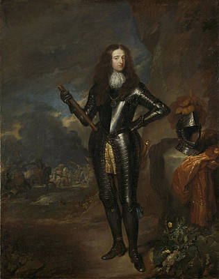 Prince William Painting - William IIi 1650-1702, Prince Of Orange And Since 1689 by Quint Lox