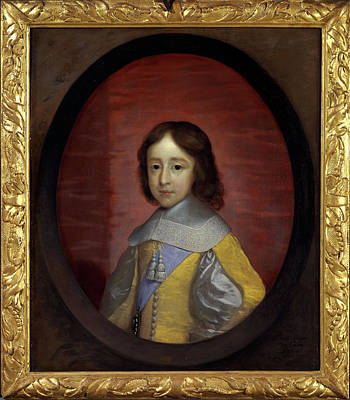 Prince William Painting - William IIi, Prince Of Orange, As A Child William IIi by Litz Collection