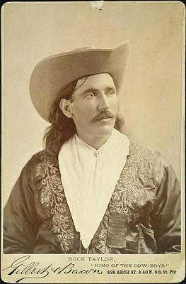 William Levi 'buck' Taylor (1857-1924) Art Print by Granger