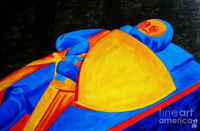 Knights Castle Mixed Media - William Longspee by Neil Finnemore