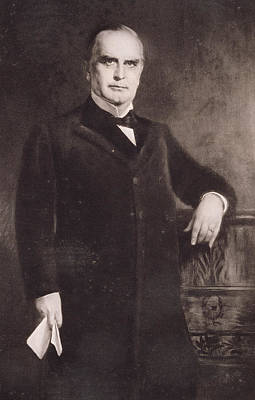 Man Of The House Painting - William Mckinley by American School