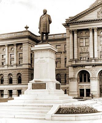 William Mckinley Statue, Toledo, Ohio, Mckinley, William Art Print