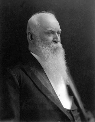 Photograph - William Morris Stewart (1827-1909) by Granger