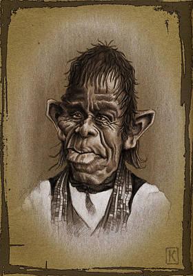 Wacom Digital Art - William Not Man by Andre Koekemoer