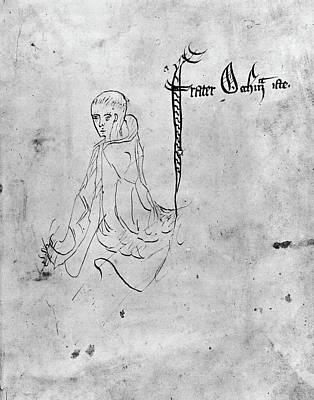 Ockham Painting - William Of Ockham (c1285-?1349) by Granger