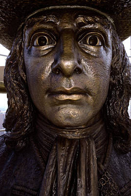 William Penn Statue On Top Of City Hall Art Print