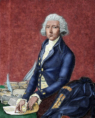 William Pitt (london 1708-hayes, 1778 Art Print