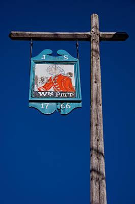 Colonial Photograph - William Pitt Tavern by Joann Vitali