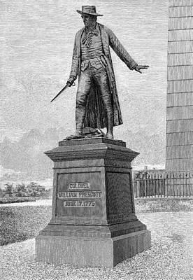 Prescott Photograph - William Prescott (1726-1795) by Granger