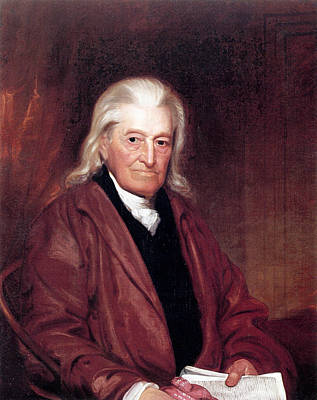 Wesley Jarvis Painting - William Samuel Johnson (1727-1819) by Granger