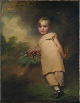 Raeburn Painting - William Scott-elliot Of Arkleton by Sir Henry Raeburn