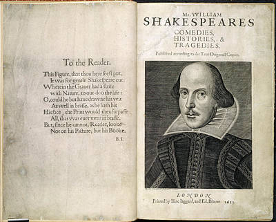Williams Photograph - William Shakespeare by British Library
