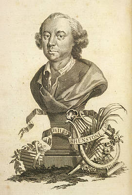 William Shenstone Art Print