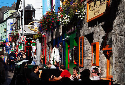 Enterprise Photograph - William Street, Galway City, Ireland by Panoramic Images