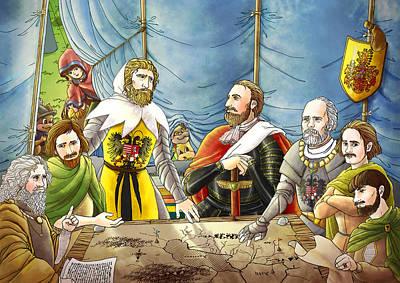 William Tell And Duke Leopold I Original
