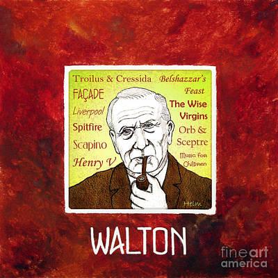 William Walton Art Print by Paul Helm