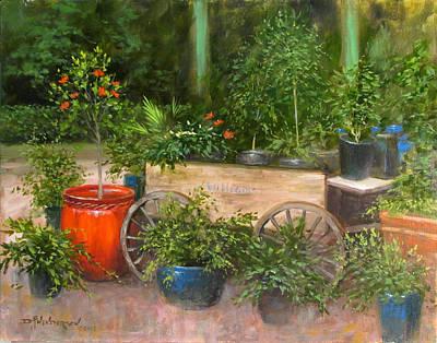 Nature Center Painting - William's Nursery by David Henderson