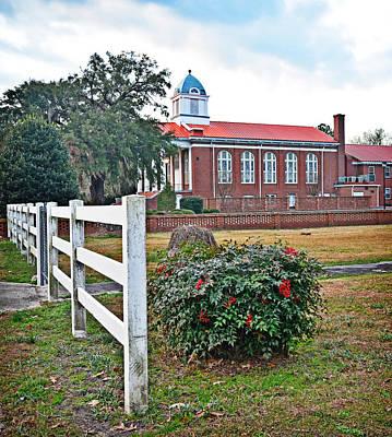Photograph - Williamsburg Presbyterian II by Linda Brown