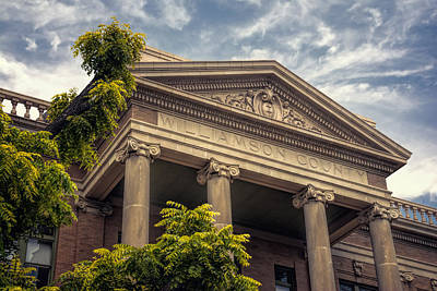 Williamson County Photograph - Williamson County Courthouse by Joan Carroll