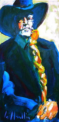 Painting - Willie by Les Leffingwell
