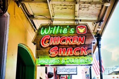 Willie's Chicken Shack Art Print