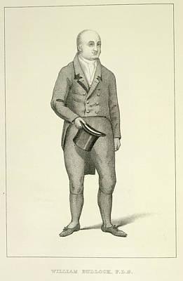 Willliam Bullock Print by British Library