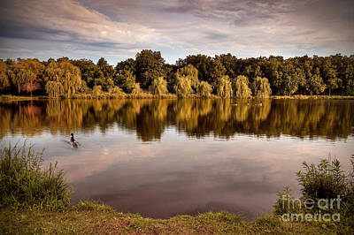 Willow Lake Photograph - Willow Reflections by Brandon Alms