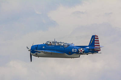 Photograph - Willow Run Air Show 63  by John McGraw