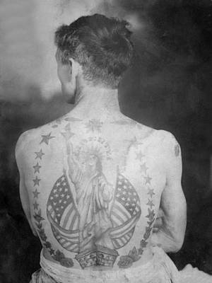 Willy H. Tandy Tattooed By Sailor Jack Wills Original