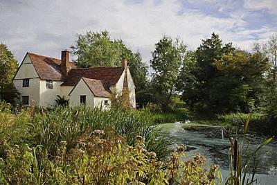 Digital Art - Willy Lotts Cottage by Ian Merton