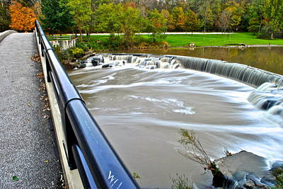Berea Wall Art - Photograph - Willy Wonkas Chocolate Falls by Frozen in Time Fine Art Photography