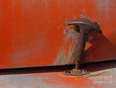 Truck Art - Willys Hood Latch   #0869 by J L Woody Wooden