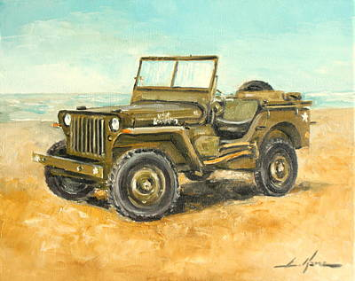 Willys Jeep Art Print