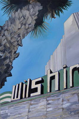 Painting - Wilshire by Lindsay Frost