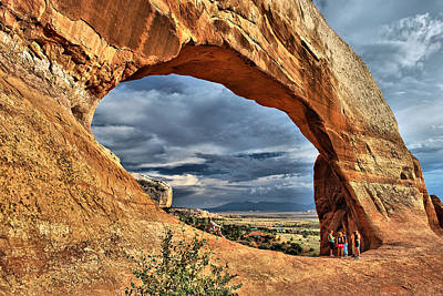 Photograph - Wilson Arch - Southeastern Utah by Gregory Ballos