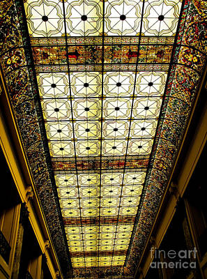 Wilson Hall Ceiling Print by Colleen Kammerer