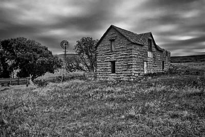 Abandoned Houses Photograph - Wilson Lake House by Chris Harris