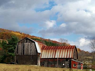 Photograph - Wilson's Barn by Christian Mattison