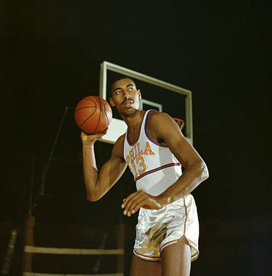 Wilt Chamberlain Perhaps The Best Ever Print by Retro Images Archive
