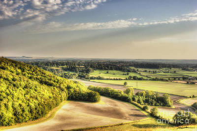 Traci Law Photograph - Wiltshire Landscape by Traci Law