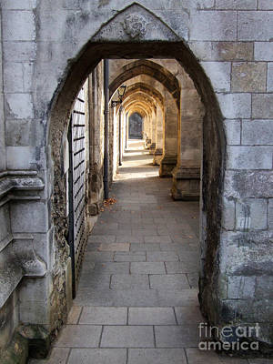 Photograph - Arches - Winchester Cathedral - England by Phil Banks