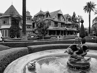 Winchester House - San Jose California Print by Daniel Hagerman