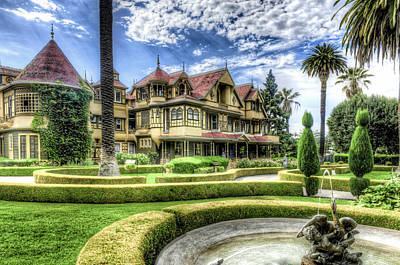 Winchester Mystery House Art Print