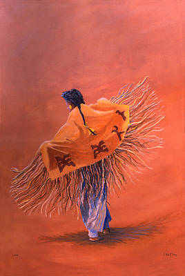 Painting - Wind Dancer by Jerry McElroy