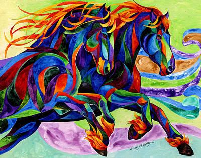 Wind Dancers Art Print